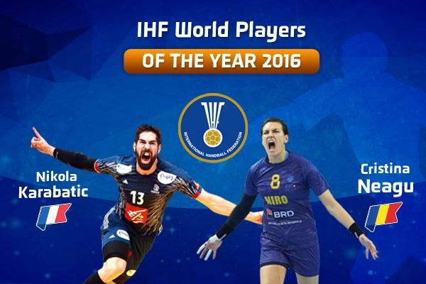 Neagu és Karabatic a 2016 év játékosa