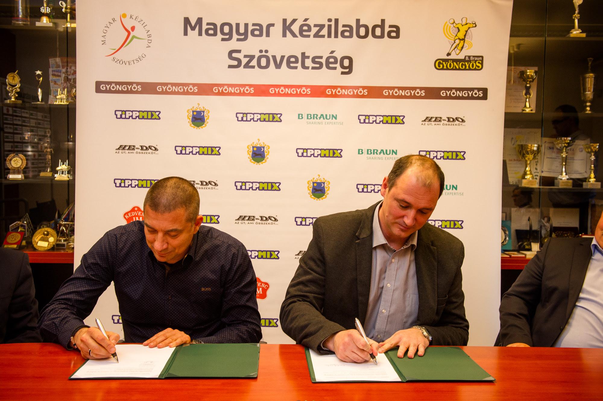 Konkoly Csaba a B. Braun Gyöngyös új edzője