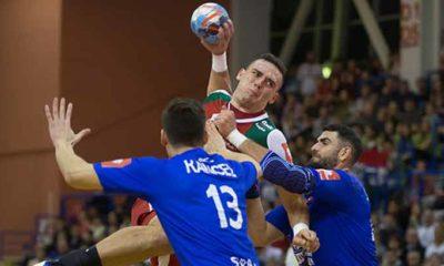 Csoknyai István szövetségi kapitány bemutatkozásán magabiztos, nyolc gólos győzelmet aratott a magyar férfi válogatott Szlovákia ellen Eb-selejtezőn.