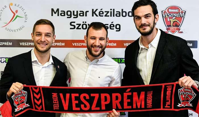 Gasper Marguc, Dejan Manaskov és Petar Nenadic